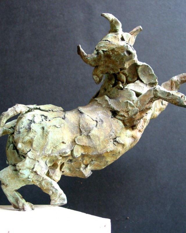 artist: Rebeca Muñoz Carrilero category; Sculpture - Animals name: from goya (2005)