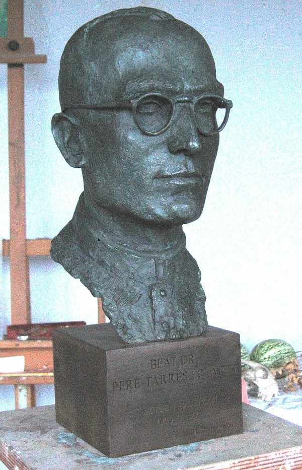 Rebeca Muñoz Carrilero - Art Work - busto Beato Tarrés