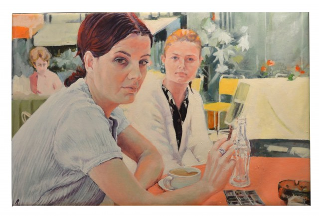 Rebeca Muñoz Carrilero - Art Work - Hermanas (un café de Lugano)