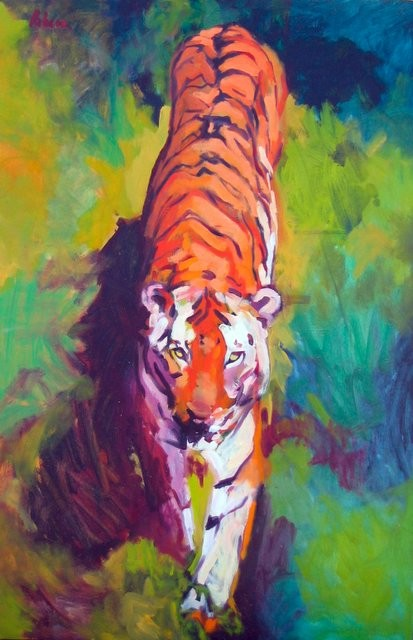 Rebeca Muñoz Carrilero - Art Work - tigre